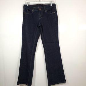 Tommy Hilfiger Dark Wash Boot Cut Jean